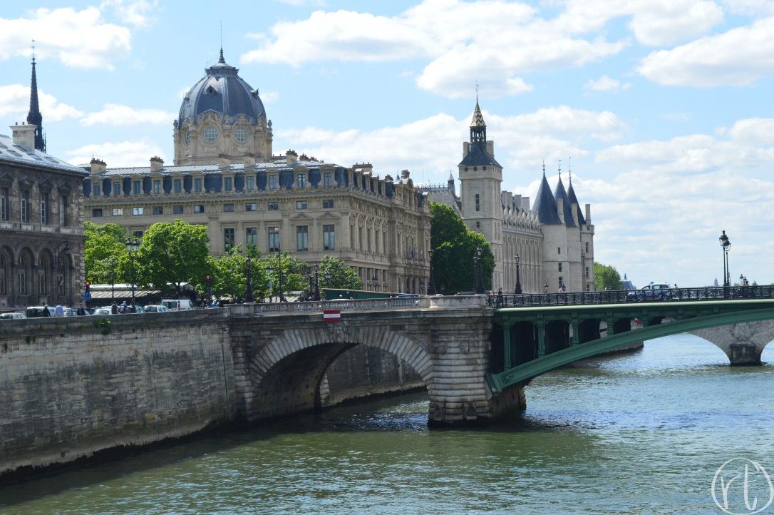 Seine River Paris France Europe Bridge.jpg
