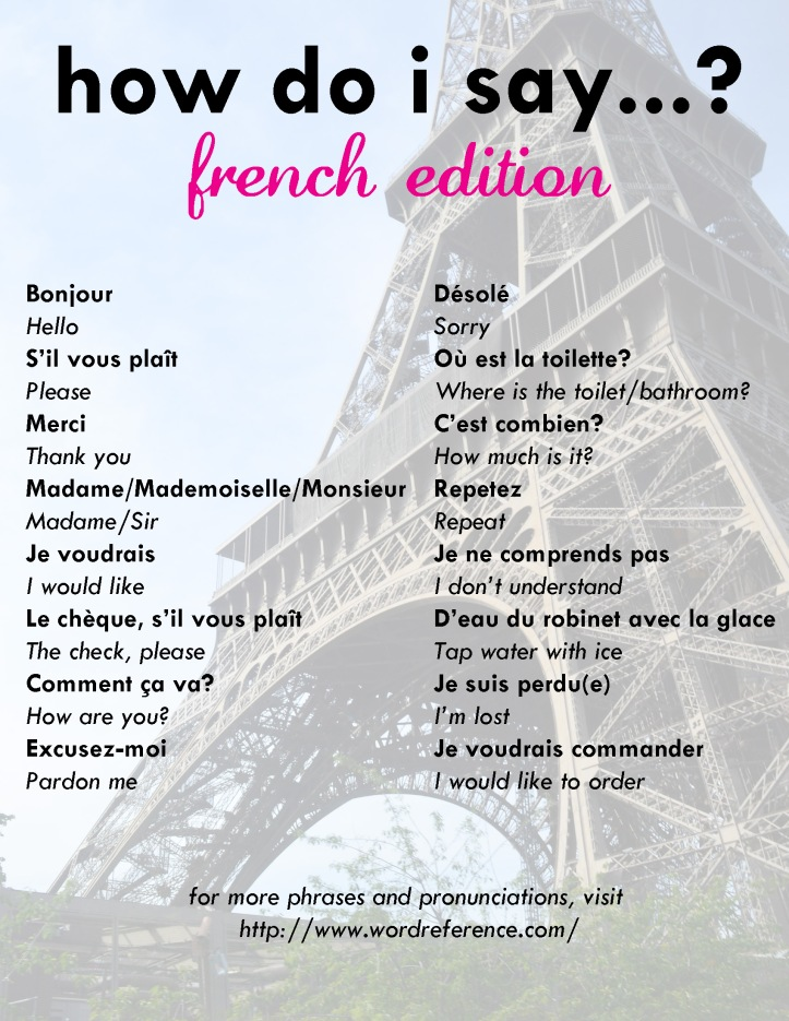useful french as essay phrases