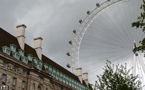 london eye storm