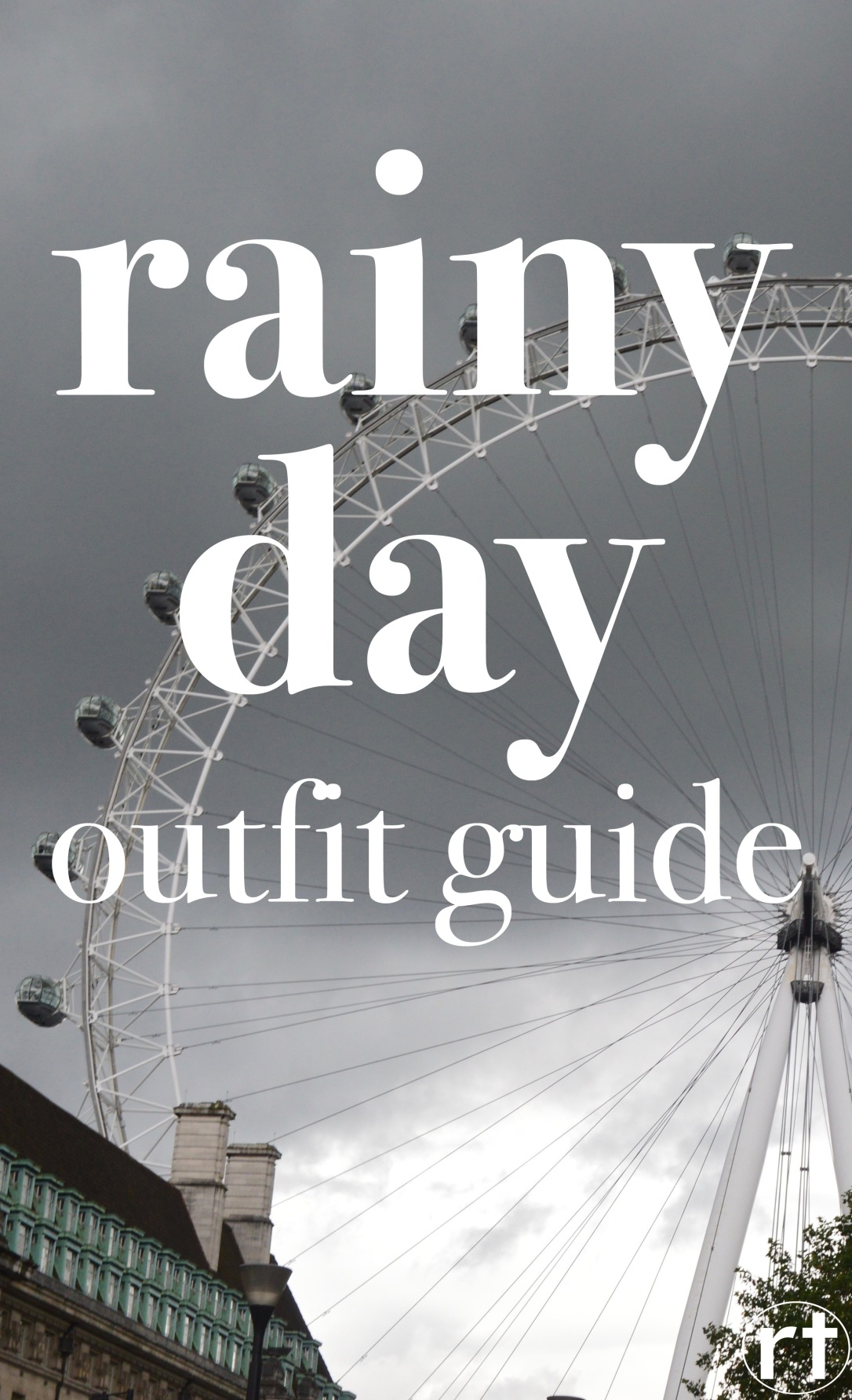 Rainy Day Outfit Guide London England