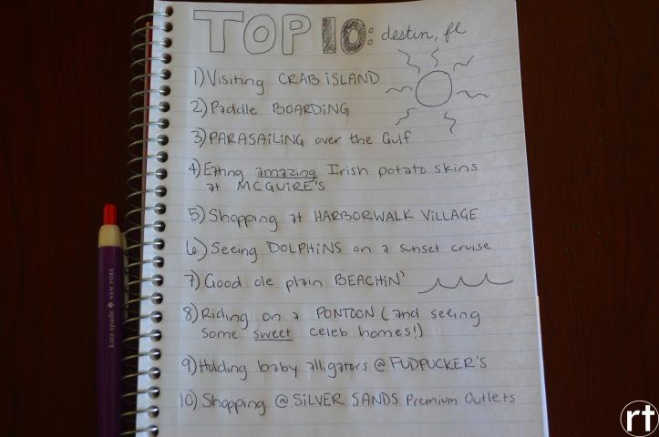 top 10 destin 2