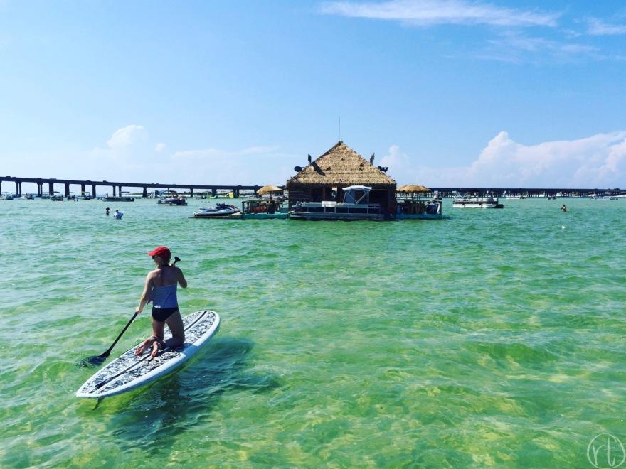 Crab Island in Destin, Florida Travel