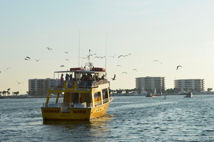 Destin Florida Boat Ocean