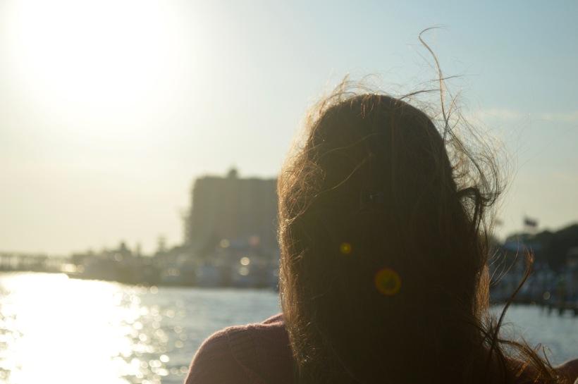 Wind Blown Hair Sunset Cruise Destin Florida Round Trip Travel