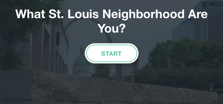 What St. Louis Neighborhood Are You?