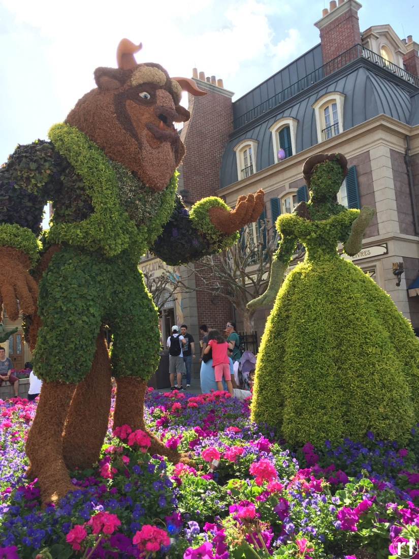 Beauty and the Beast France Epcot Disney