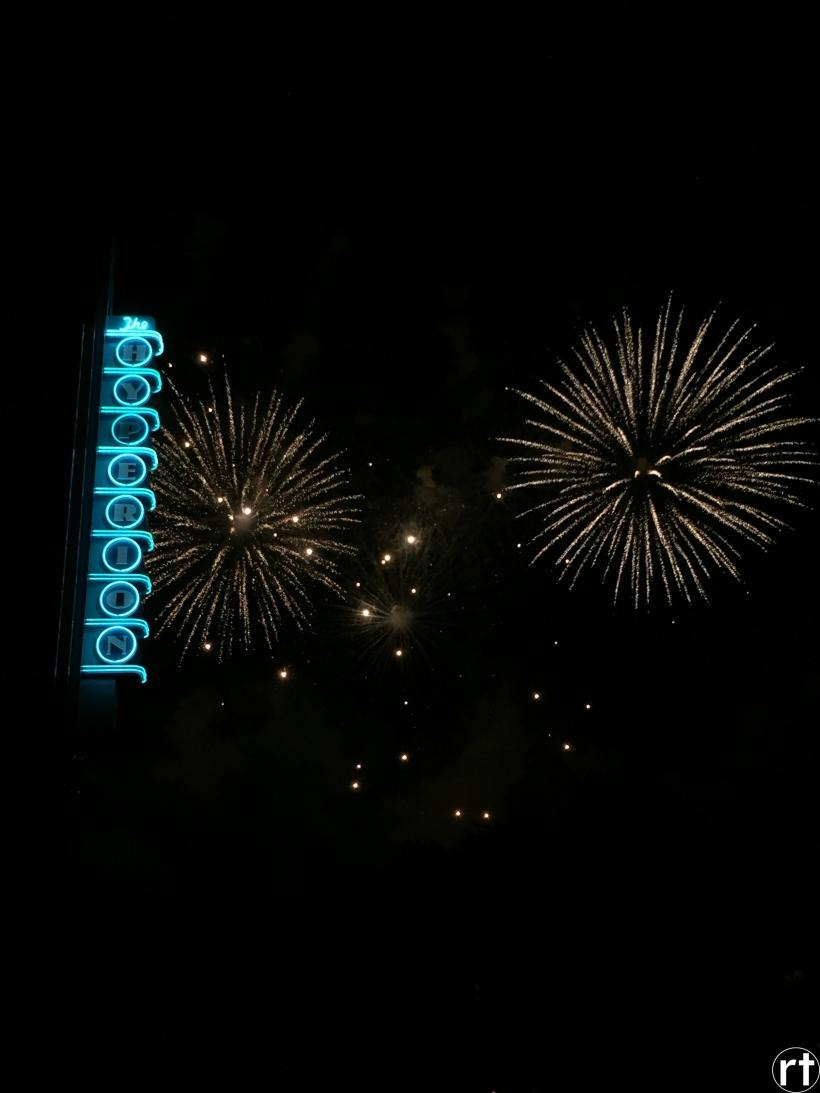Star Wars Fireworks Hollywood Studios