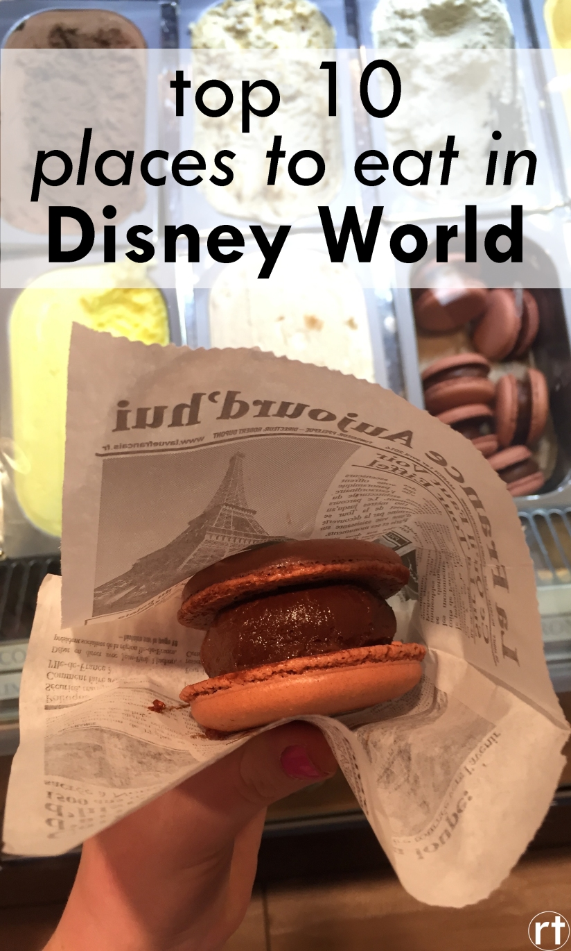 top 10 places to eat in disney world