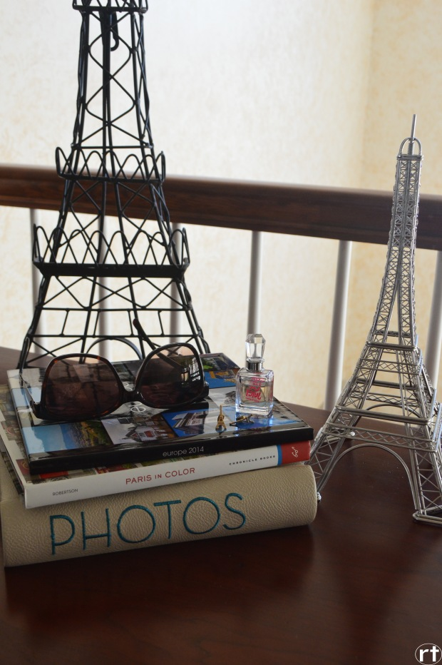 Eiffel Tower France Scrapbook