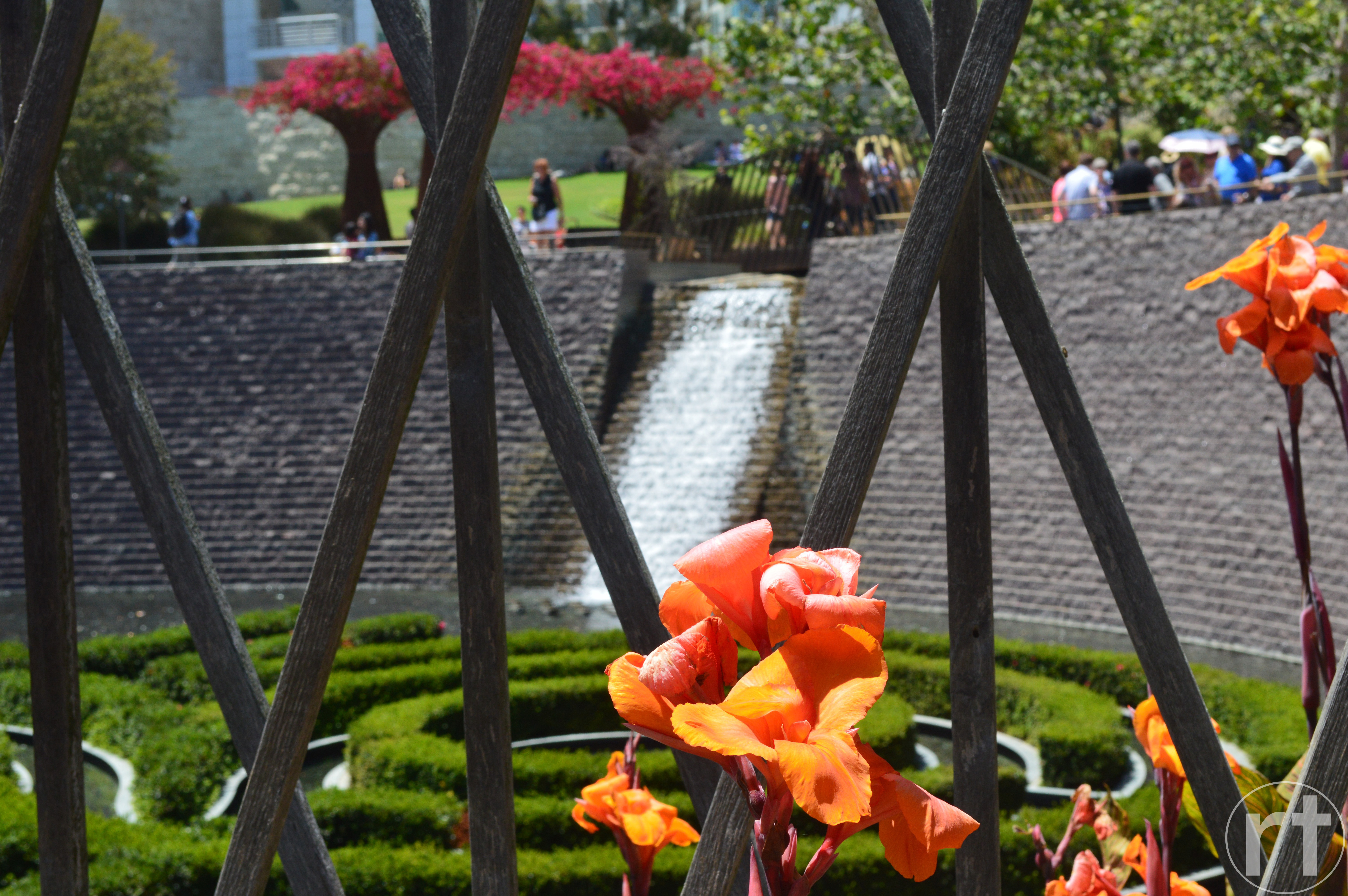 Getty Center Los Angeles Waterfall