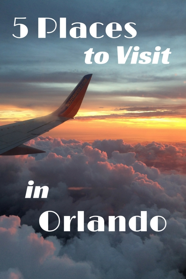 5 Places To Visit in Orlando Guest Post Logo