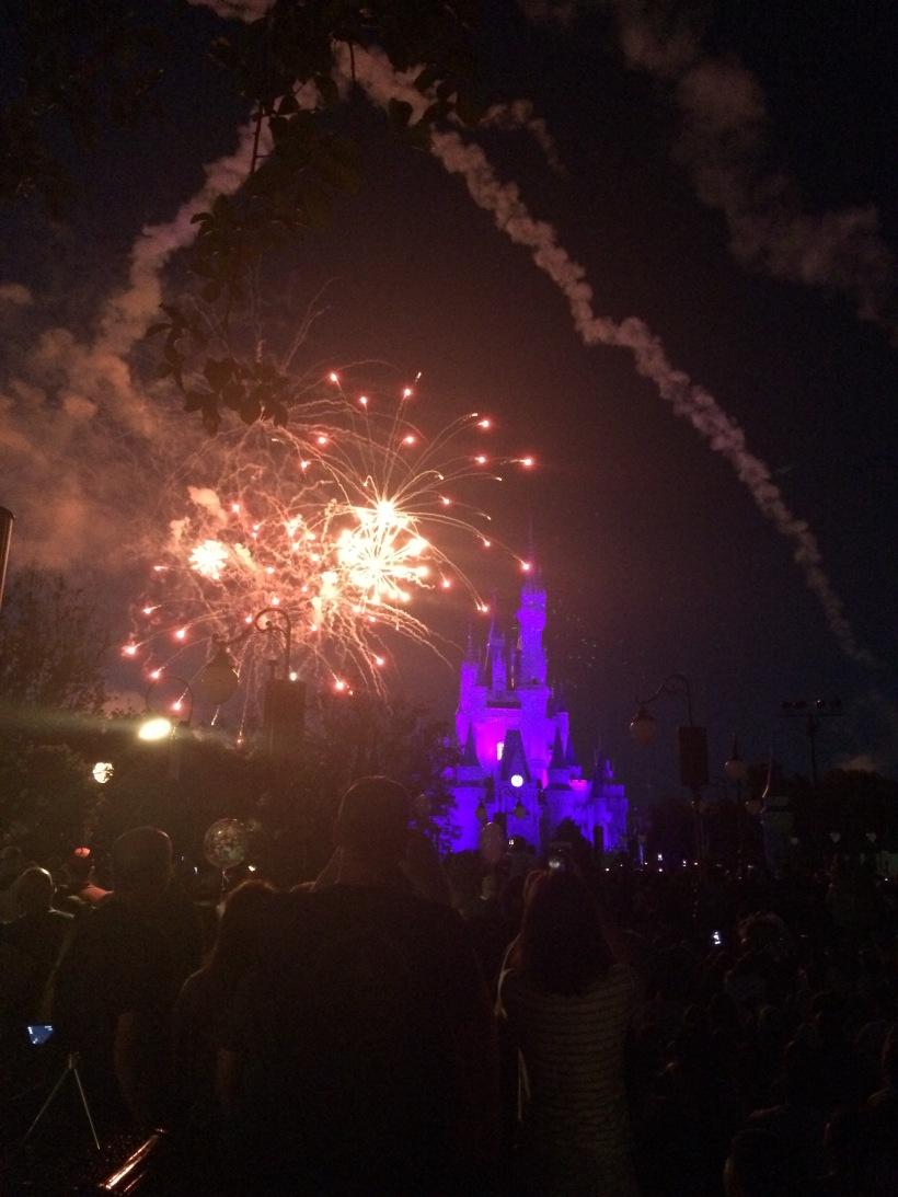 Magic Kingdom Disney Fireworks