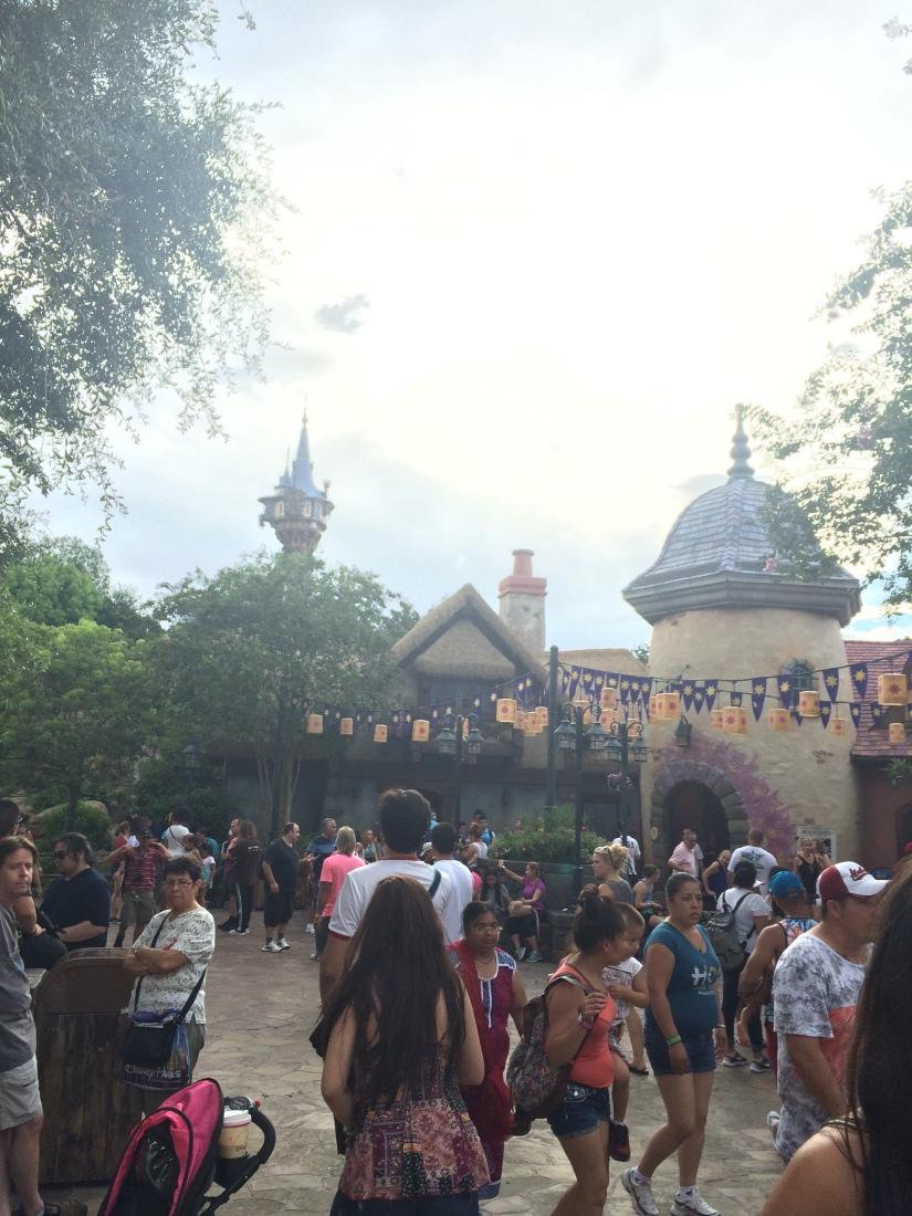 Magic Kingdom Tangled Rapunzel