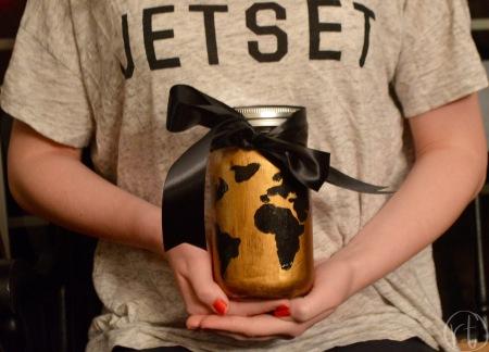 DIY Travel Mason Jar | Round Trip Travel