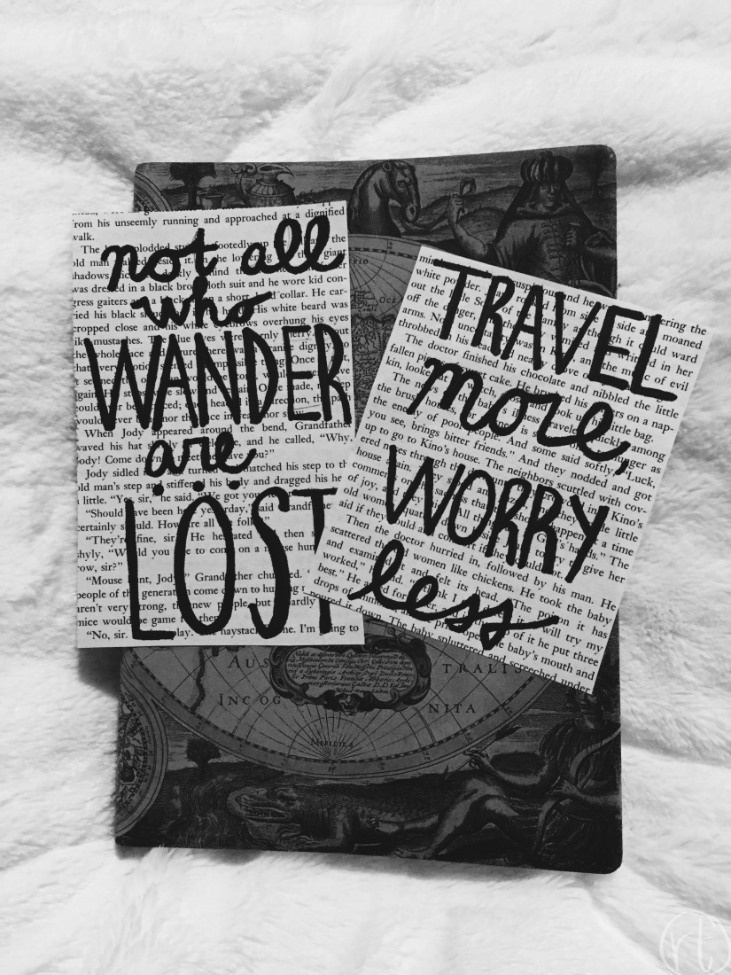 DIY Travel Prints Wanderlust by Round Trip Travel
