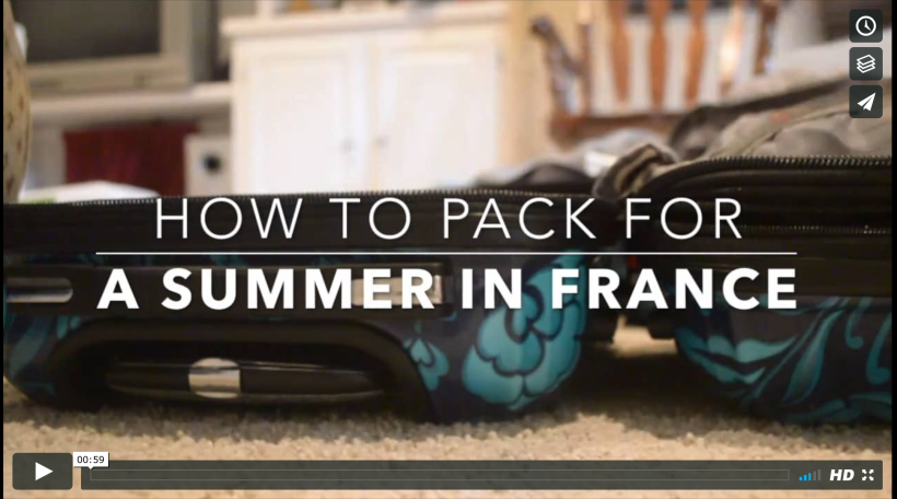 How to Pack for a Summer in France Round Trip Travel Packing.png