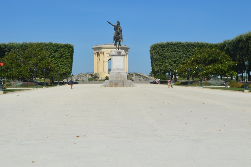 Peyrou Montpellier France