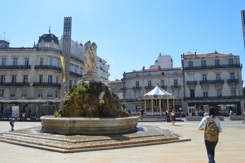 Place du Comédie Montpellier France