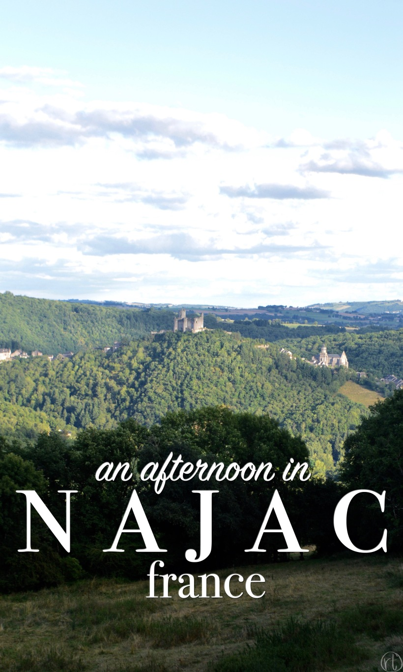 An Afternoon in Najac France Aveyron Valley French