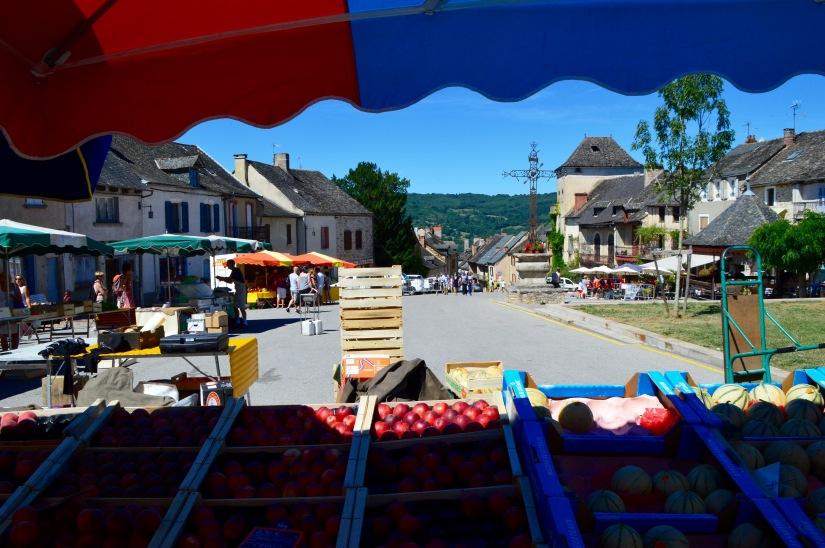 Dimanche Marché Farmer's Market Najac France