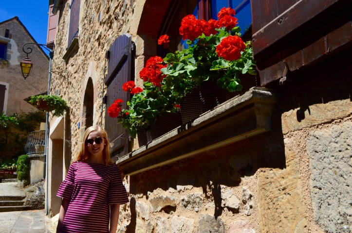 flowers fleurs najac village france french