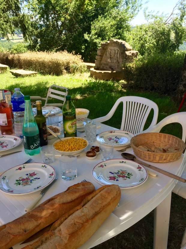 French Meal Repas Chateau Castle