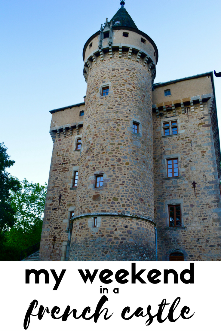 my weekend in french castle