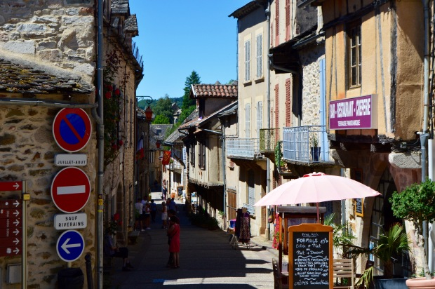 najac streets rues france village quaint travel
