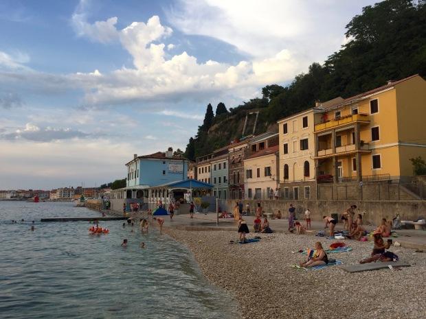 Portoroz Slovenia Europe Adriatic Sea Ocean