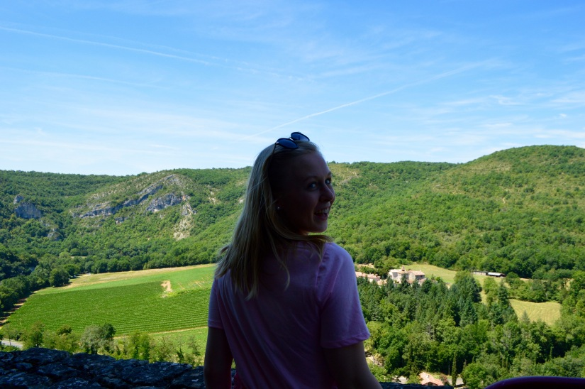 Saint-Antonin-Noble-Val Overlook Southern France