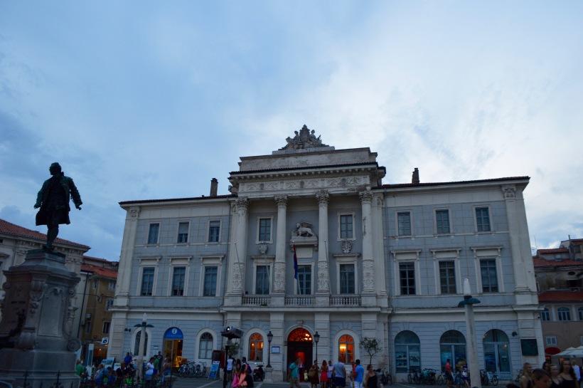 Tartini Square Piran Slovenia Travel Europe