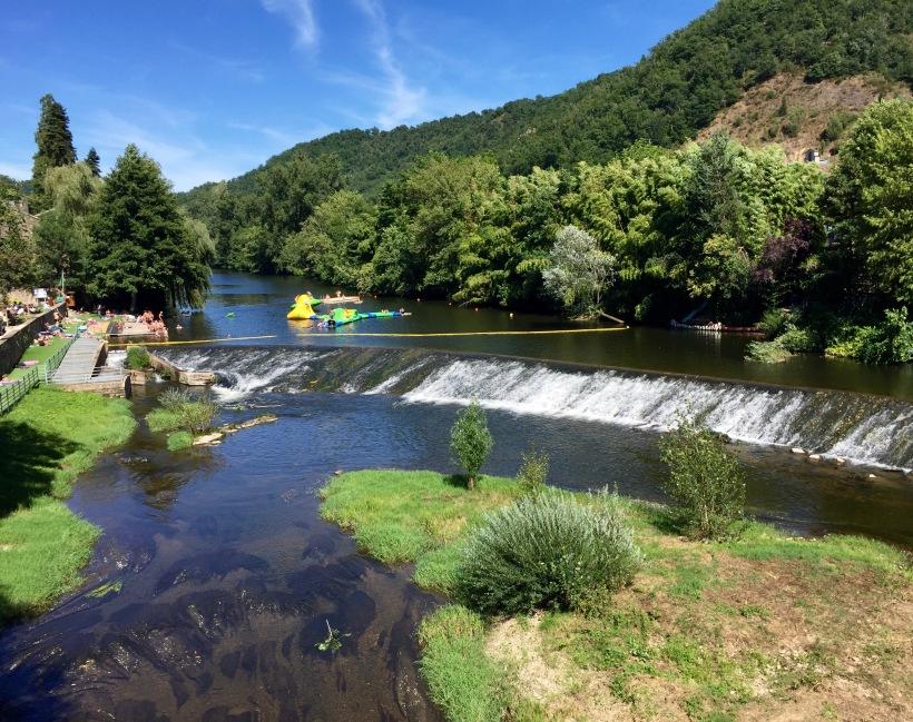 viaur river france laguepie aveyron