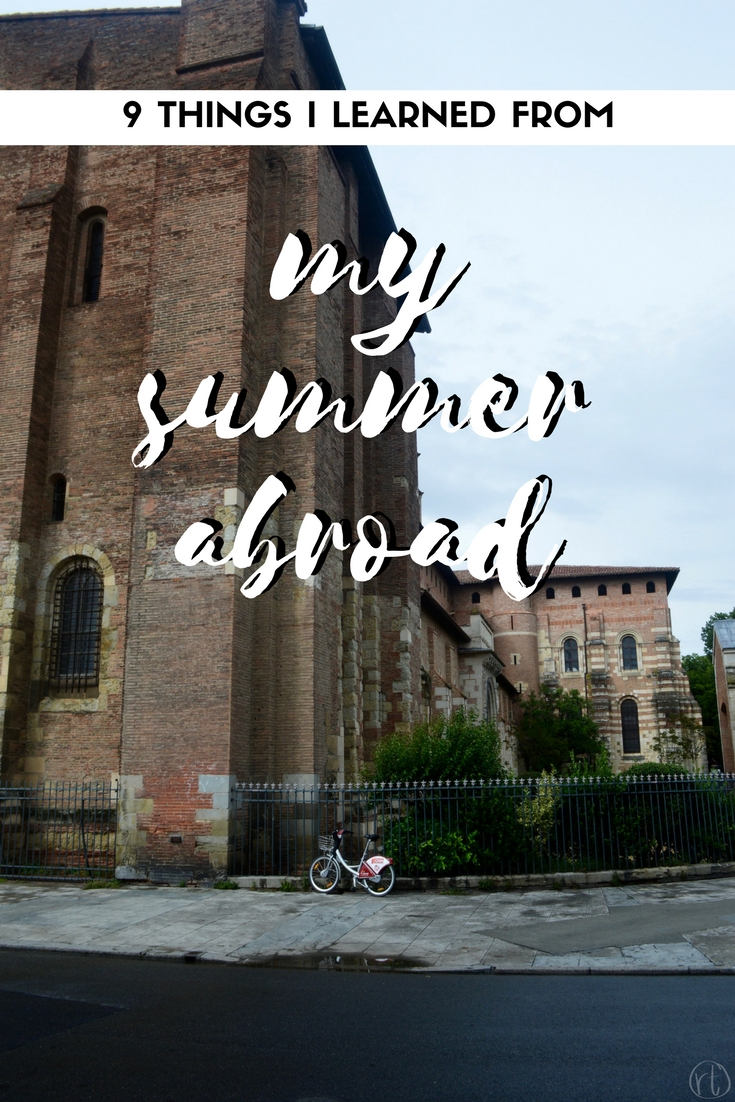 9 things i learned from my summer abroad france