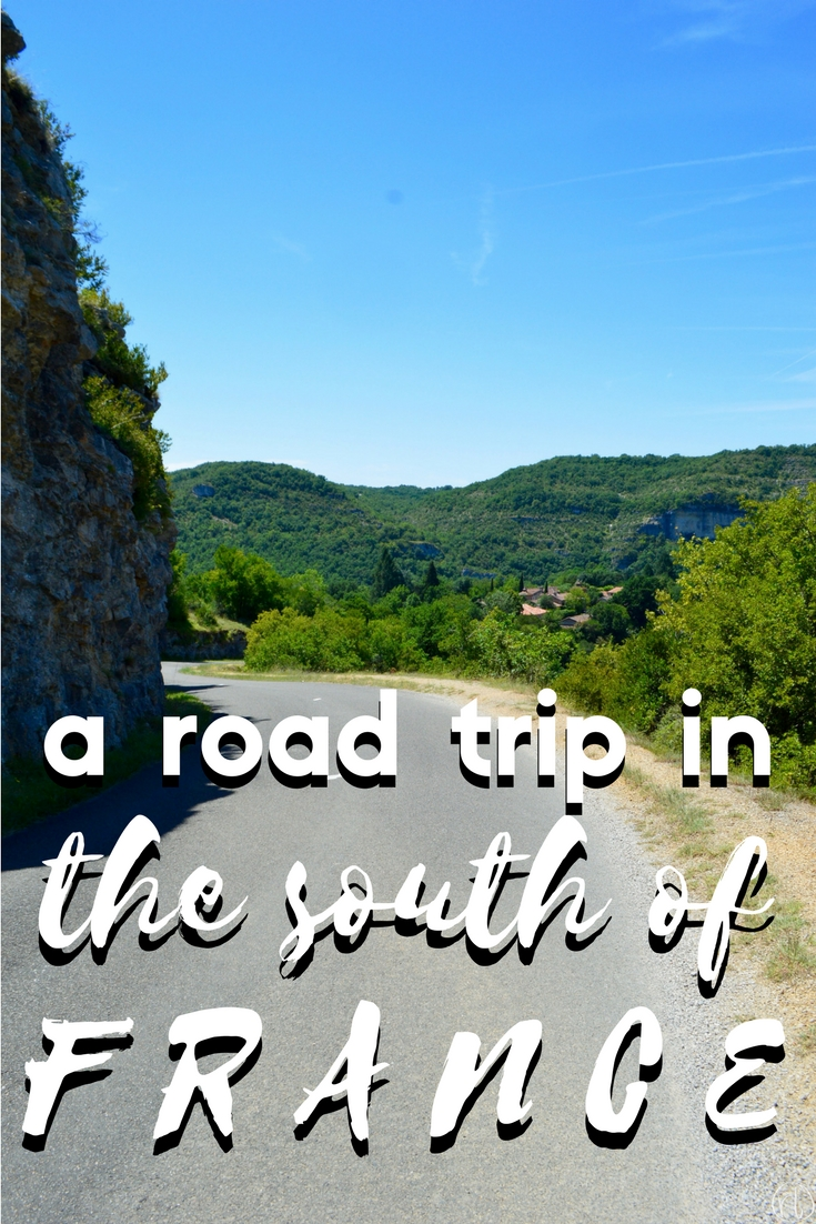 a road trip in the south of france
