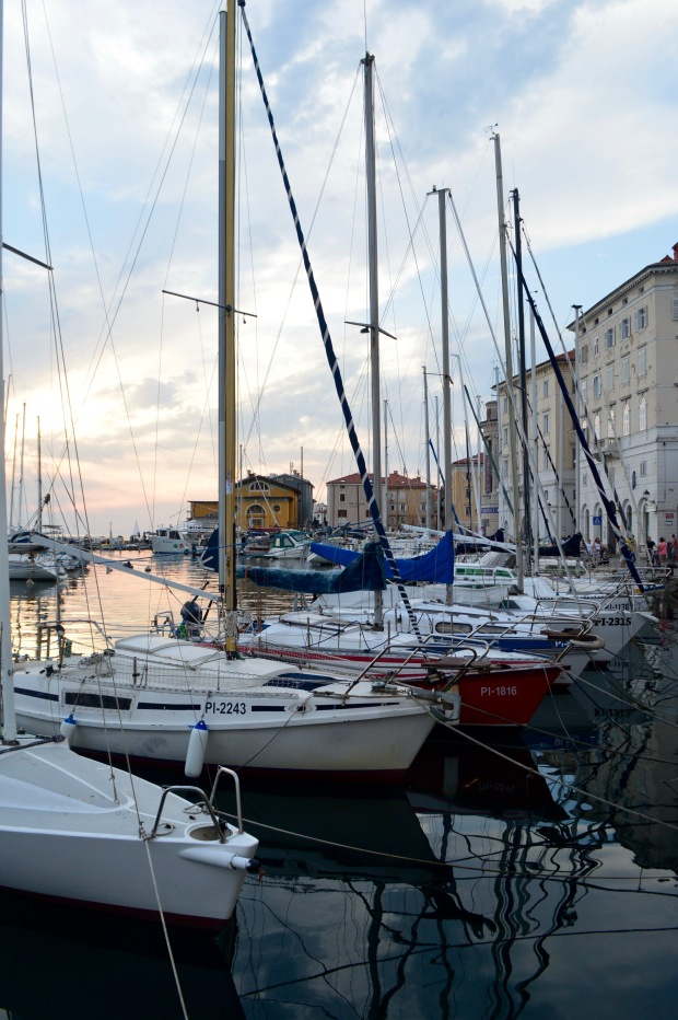 Boats Adriatic Sea Piran Portorose Slovenia