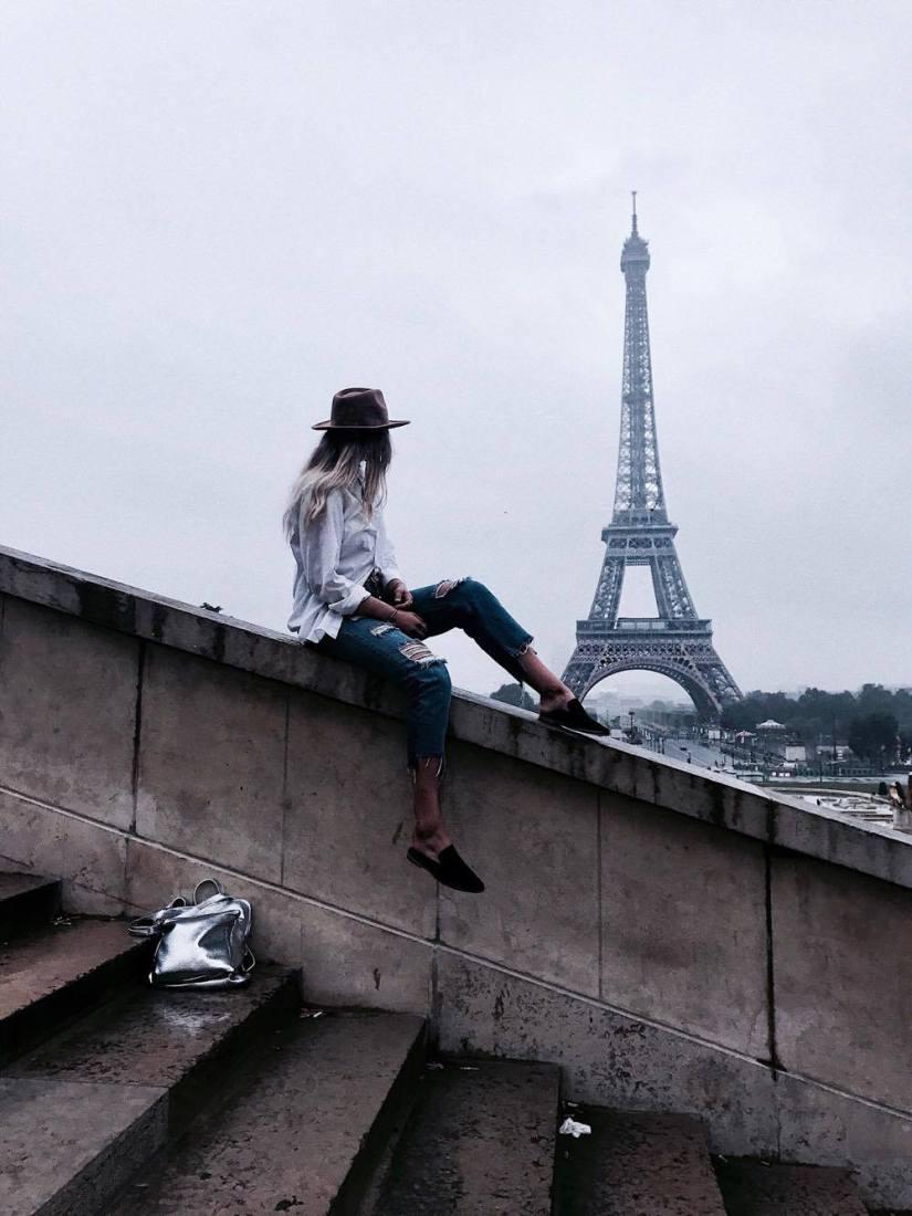 Eiffel Tower Paris France Madeline Koerner Travel