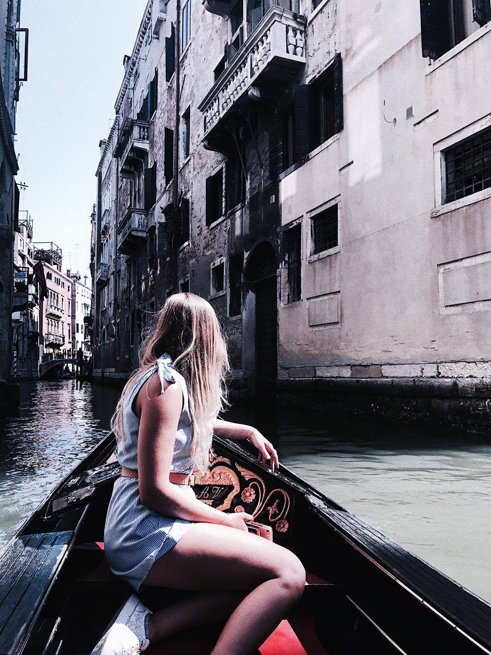 Italy Canal Boat Travel Madeline Koerner