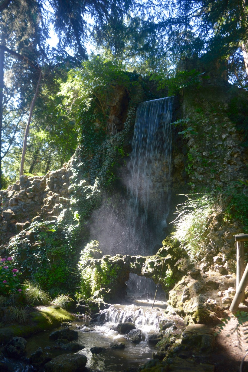 Jardin des Plantes Waterfall Toulouse France