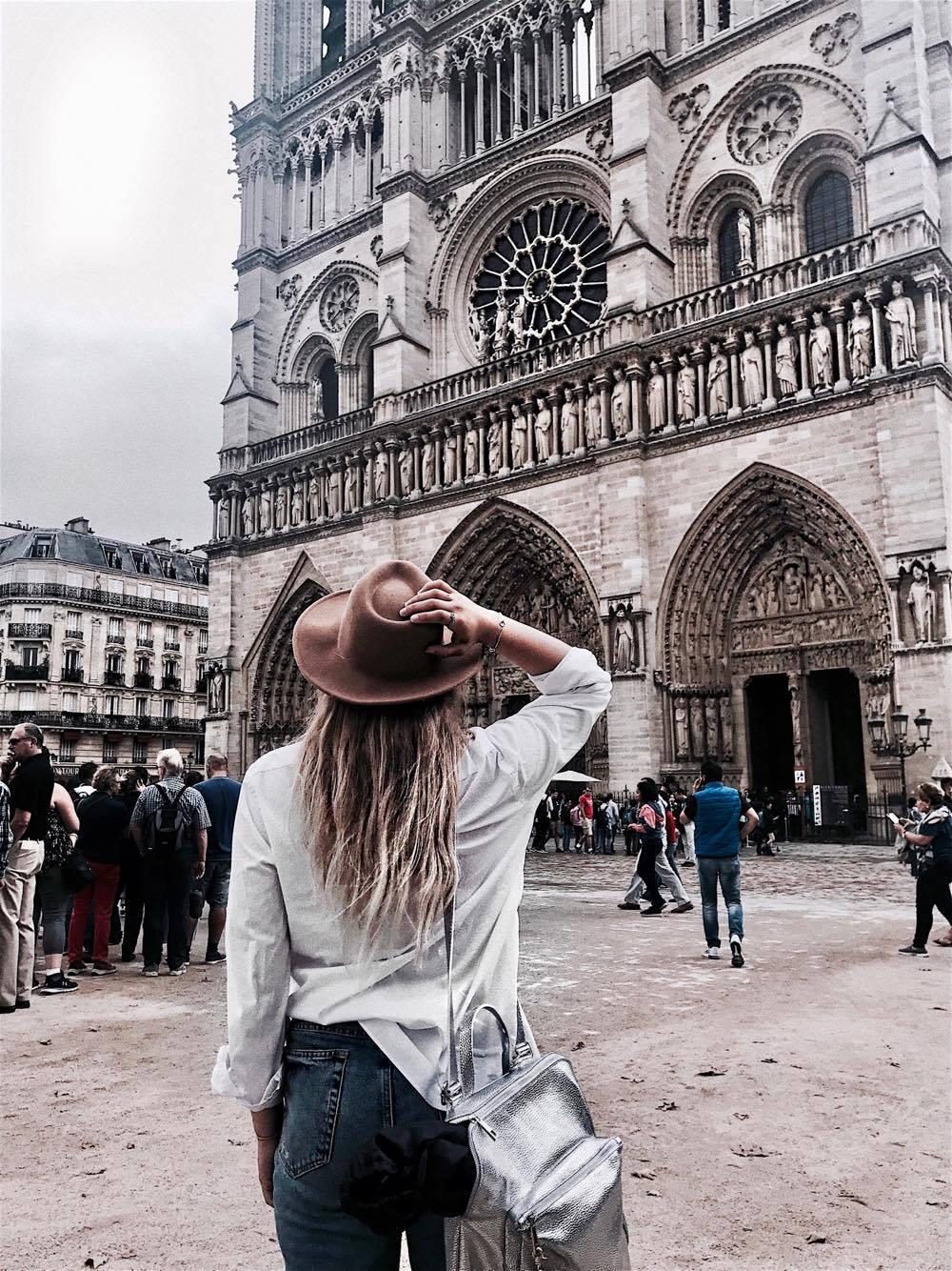 Notre Dame Paris France Seine Travel