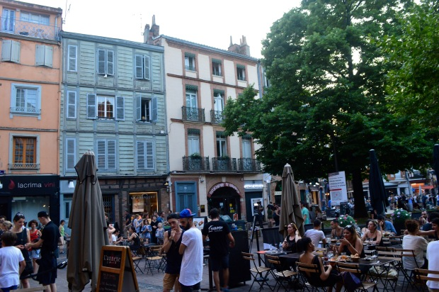 Place St Georges City Square Toulouse France
