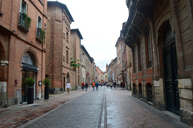 Rues Toulouse Street View St Sernin