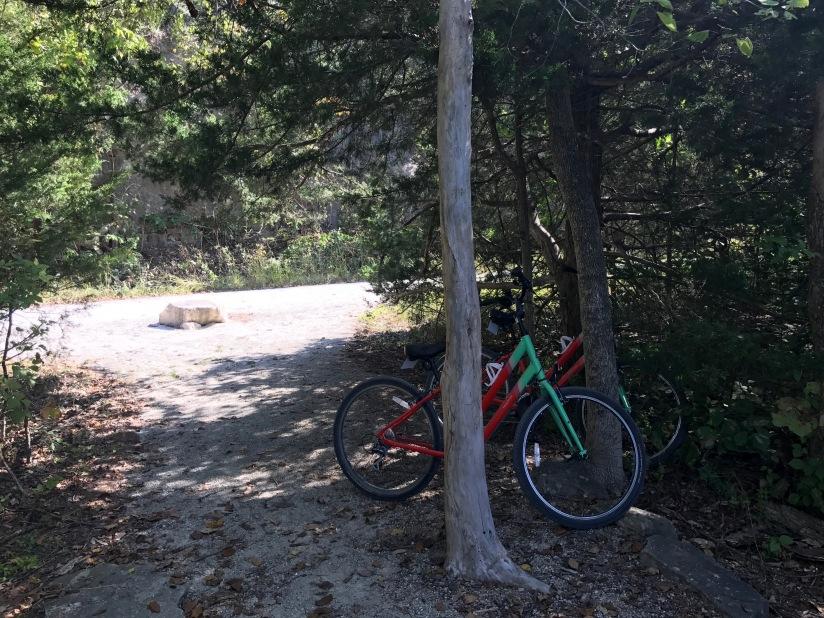 Katy Trail Meriweather Cafe Bike Rocheport Missouri