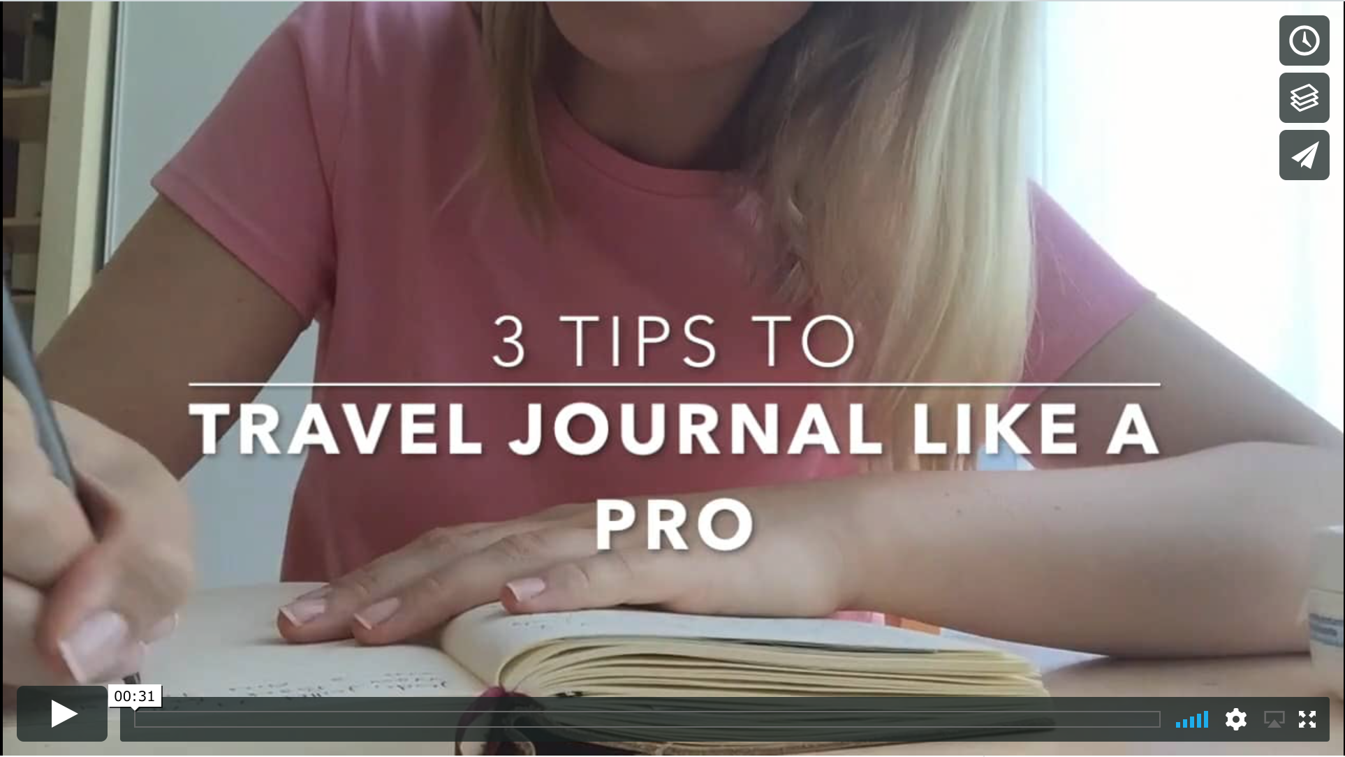3 Tips to Travel Journal Like a Pro