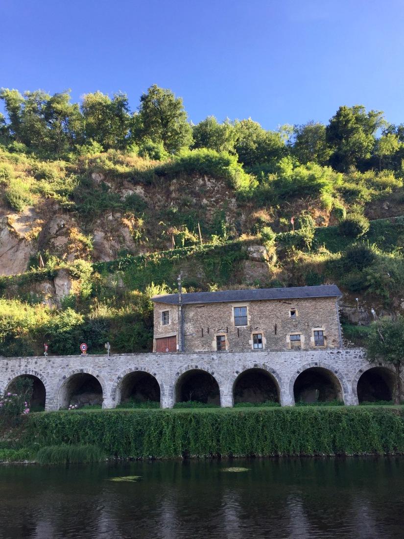 St Martin Laguépie France Aveyron Occitanie Viaur River