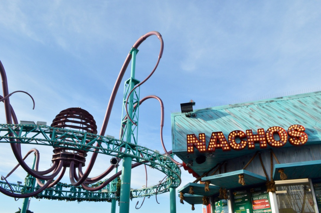 Pacific Park Santa Monica Amusement Park California