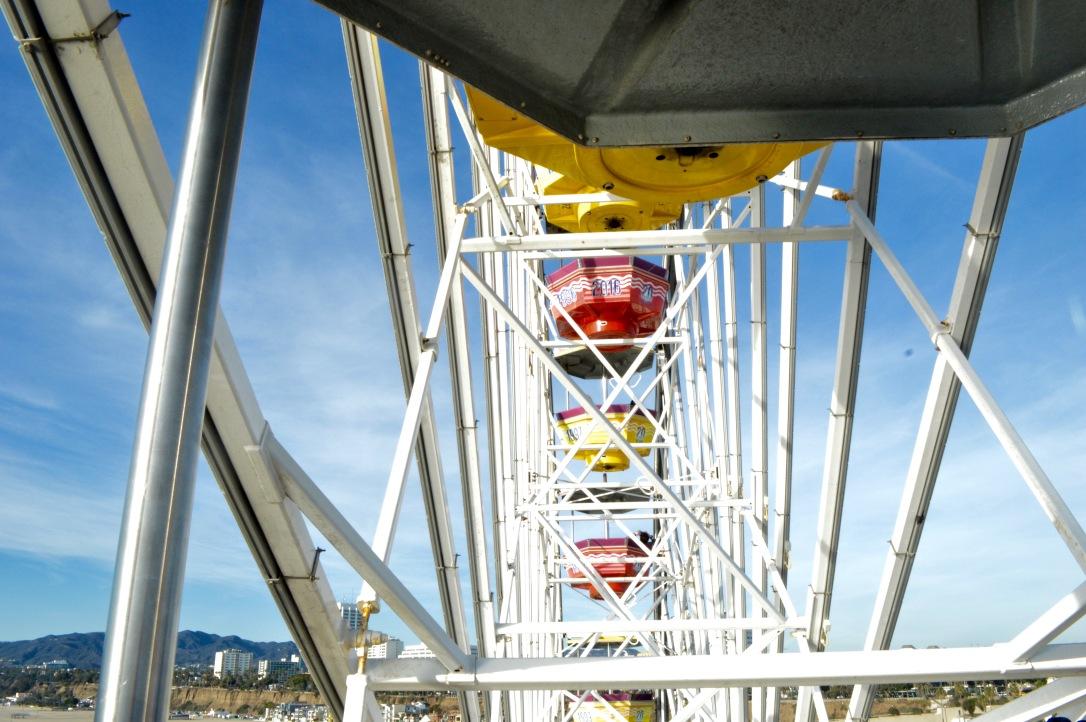 Santa Monica Pier Ferris Wheel California