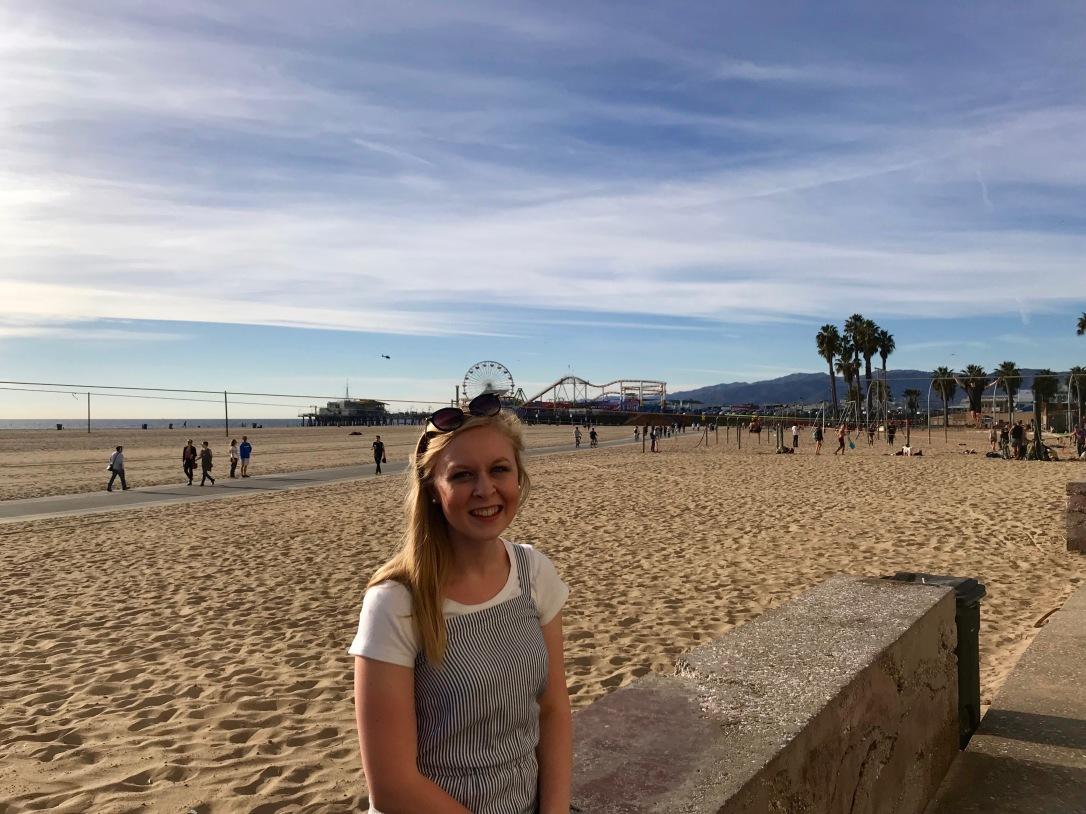 Santa Monica Pier Round Trip Travel California