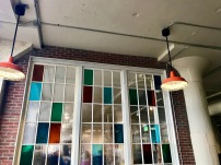 Stained Glass Window Ponce City Market Atlanta GA Shop Travel Eat