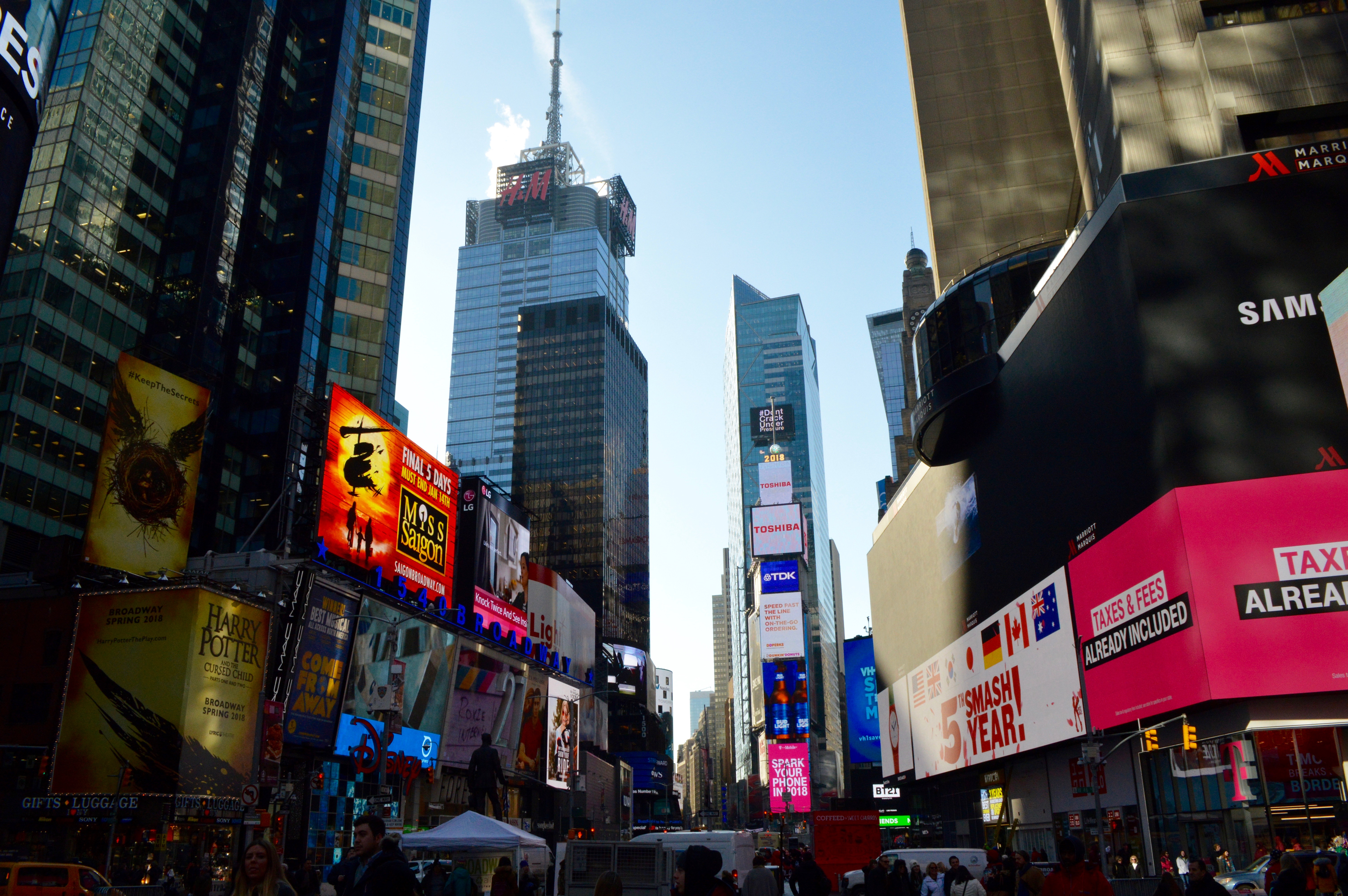 Times Square New York City Travel