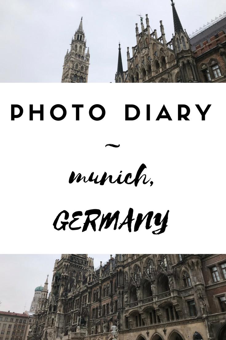 Munich Germany Photo Diary